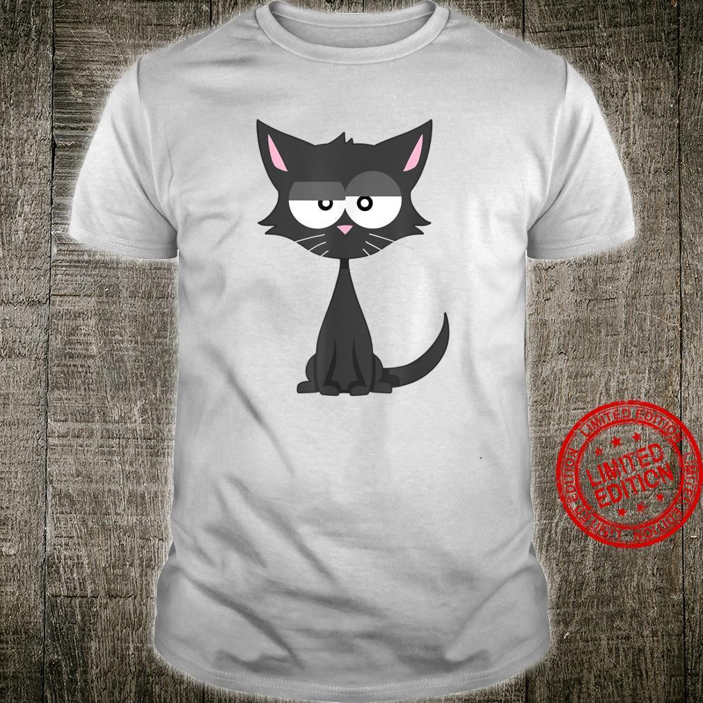 Black Cat Cool Shirt