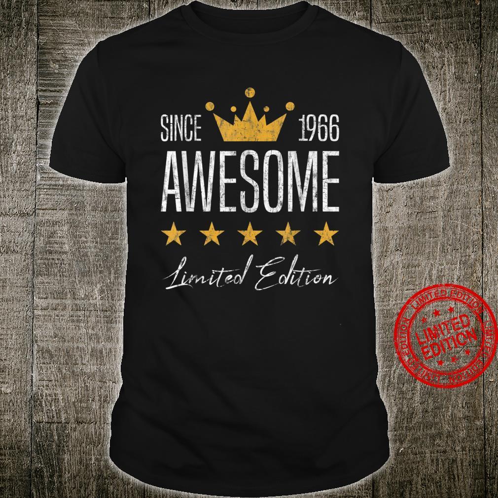 Großartig Seit 1966 Jahrgang Perfekt Geburtstag Geschenk Shirt